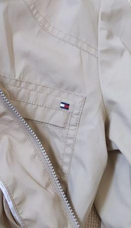 tommy hilfiger ветровка куртка осенняя S нейлон