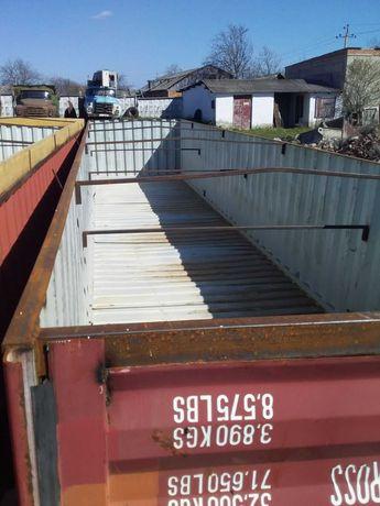 контейнера под зерно фитинги прицепы