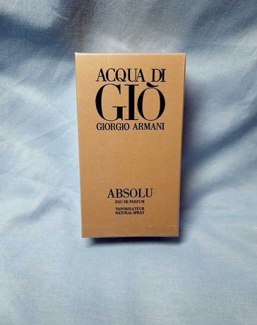 Парфумована вода Armani Acqua di Gio Absolu Армані Аква ди джио Абсолю