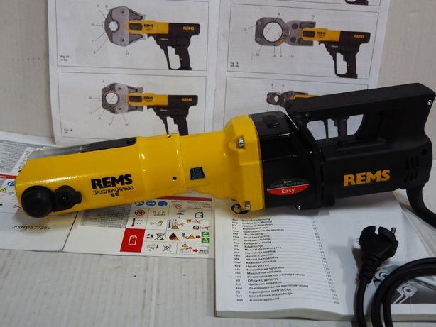 Zaciskarka Prasa REMS Power Press SE roller ridgid rothenberger viega