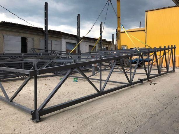 Виготовлення металоконструкцій, змонтувати ангар, цех, зерносховище.
