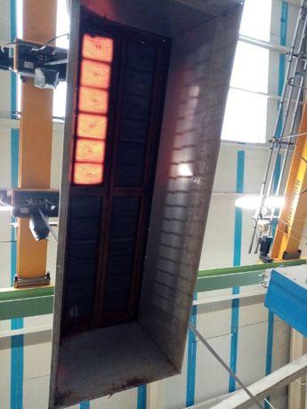 promiennik gazowy NACELLE H21 XT 38 kw