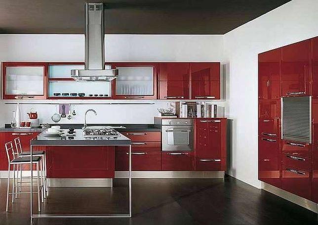Móveis de cozinha, Ref.034, modernos a preço de fábrica