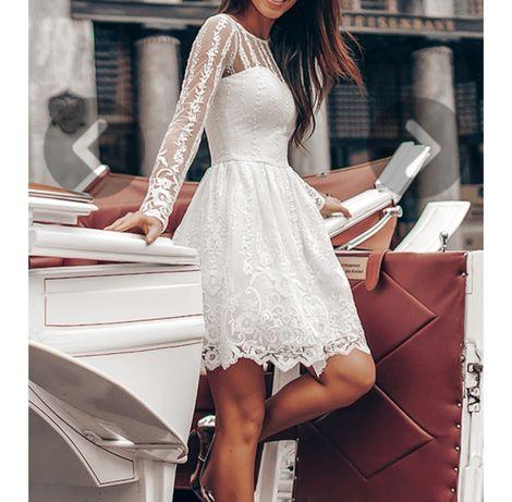 Suknia na ślub /poprawiny rozmiar 38 stan idealny