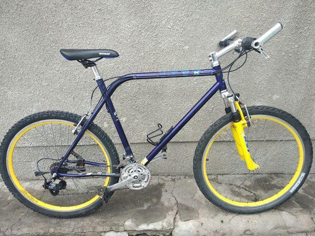 Велосипед из Германии Hawk, Перекидки SrSuntour XCM