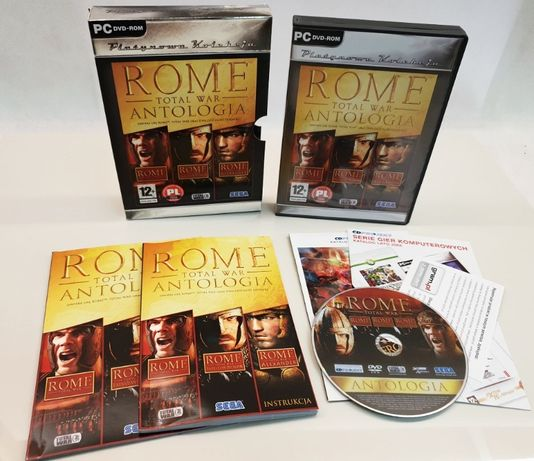 ROME Total War ANTOLOGIA wydanie specjalne PC wersja PL