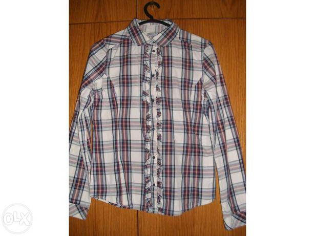 Camisa rapariga quadrados