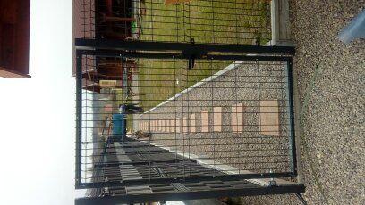 brama panelowa , panele ogrodzeniowe , siatka