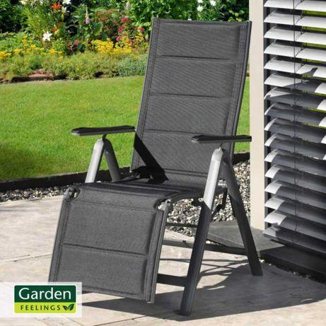 Aluminiowy leżak relaksacyjny GARDEN FEELINGS