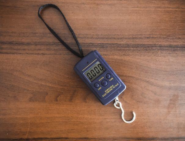 Mini waga hakowa wędkarska elektroniczna walizkowa 40kg 10g
