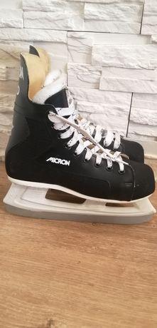 Łyżwy Hokejowe CANSTAR Nr 38 Wkł 24.5 cm Stan Bardzo Dobry!