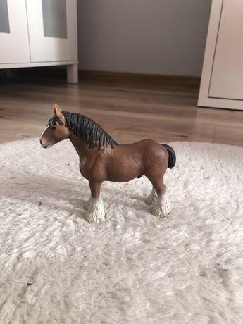 konie schleich clydesdale,pinto,bushkir curly