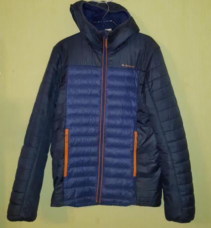 Куртка , ветровка легкий пуховик весна осень на мальчика р.158-164