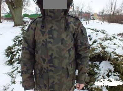 Orginalny komplet GORE-TEX WZ 93 (kurtka, spodnie, podpinka)