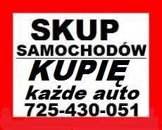 SKUP AUT Za GOTÓWKĘ Płacę NAJWIĘCEJ Całe/ Uszkodzone KAŻDE Małopolska