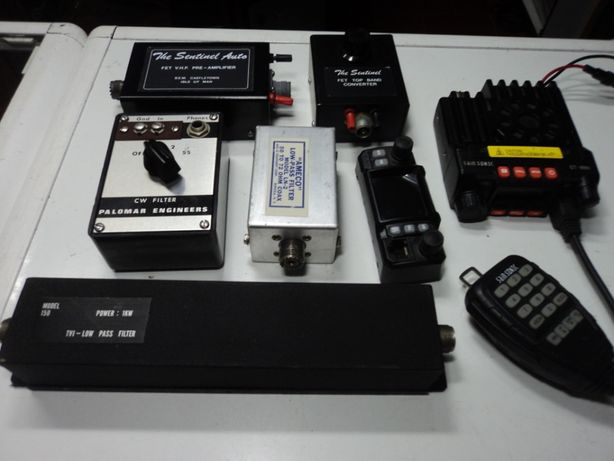 Lote Material Rádio amador