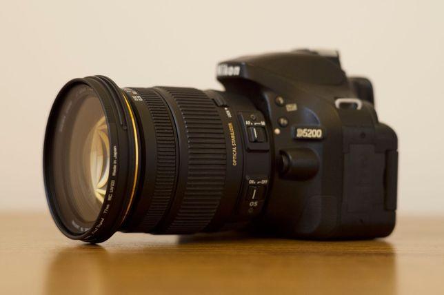 Nikon D5200 + Sigma 17-55 f/2.8 EX DC OS HSM