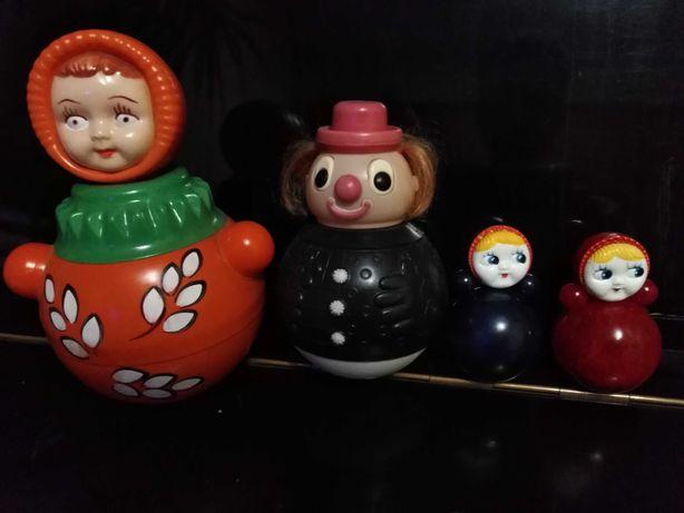 Неваляшки , игрушки времён СССР
