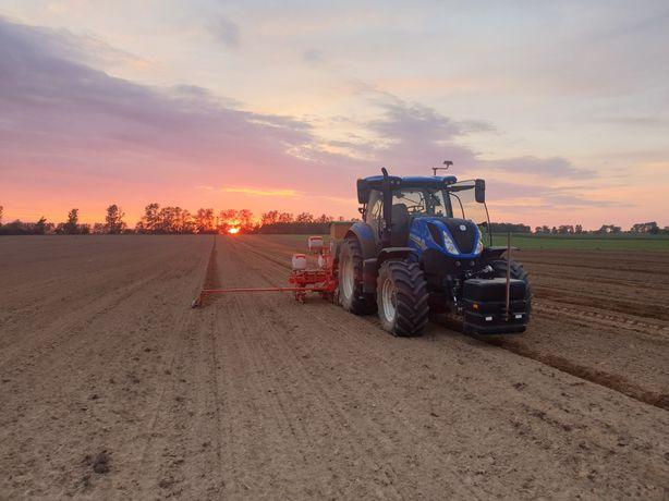 USŁUGI ROLNICZE orka, siew zbóż, kukurydzy, rzepaku, buraków GPS 2 CM!
