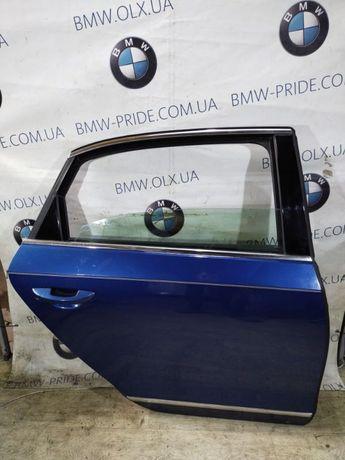 Дверь голая Volkswagen Passat B8 2016 задняя правая (б/у) Пассат б8