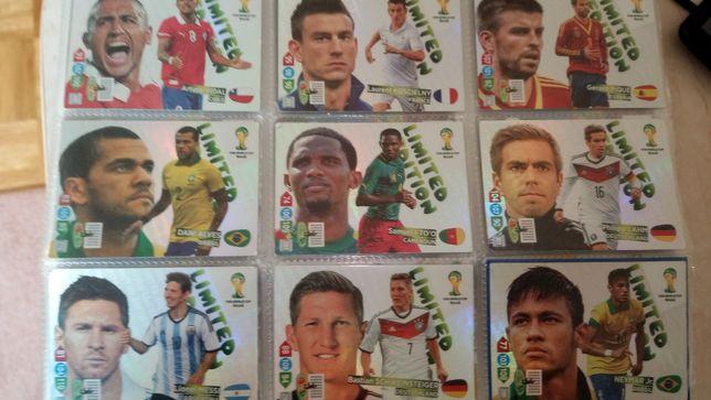 Karty piłkarskie brasil 2014