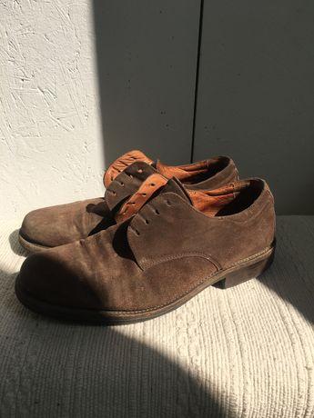 Замшевые туфли 44 размер