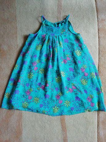 Dziewczęca sukienka 128-135