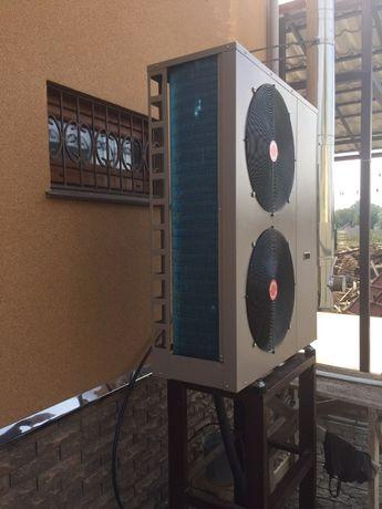 Экономное отопление помещения тепловым насосом