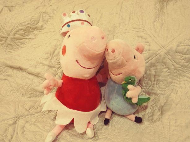 Maskotka Świnka Peppa oraz George