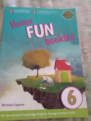 Учебник- тетрадь английского языка Home fun booklet
