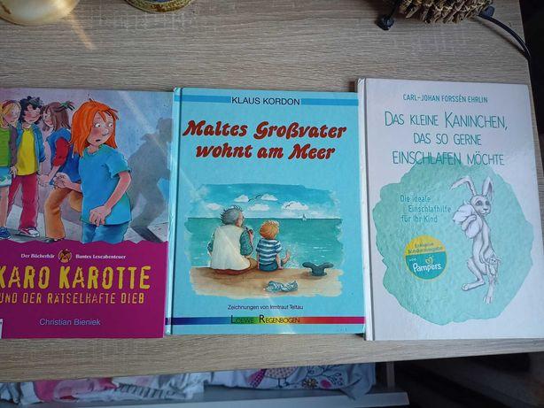 3x Niemieckie książki dla dziecka po niemiecku niemiecki Karo Karotte