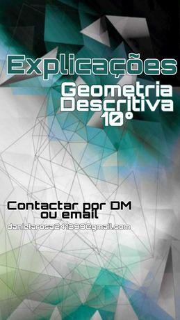 Explicações de Geometria Descritiva 10º ano