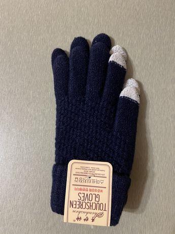 Сенсорные зимние перчатки для мужчин и женщин