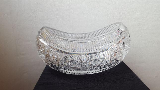 Kryształ misa waza salaterka żardinierka PRL