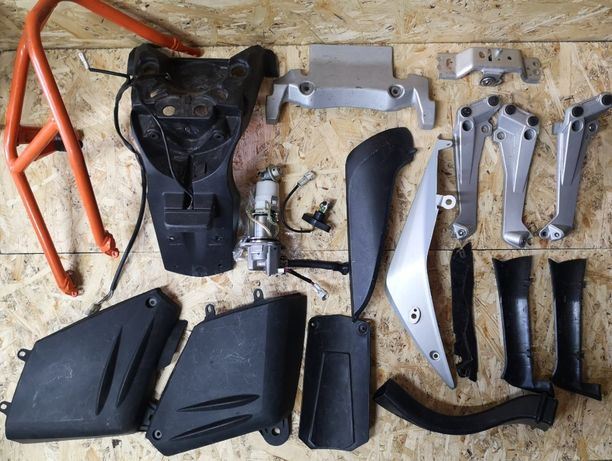 запчасти KTM 990, 1190 Adventure.Пластик,Двигатель,Амортизатор,Дуг