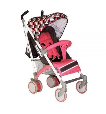 Прогулочная коляска BabyHit Rainbow (D200) - Pink Diamond