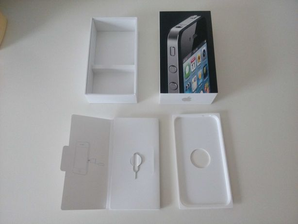 Caixa iPhone 4 impecável