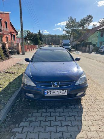 Peugeot 607 3.0 v6 benzyna + gaz