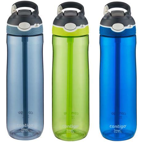Бутылка для води Contigo пляшка Контиго для спорту відпочинку