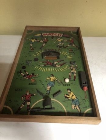 Futebol de madeira. 1950
