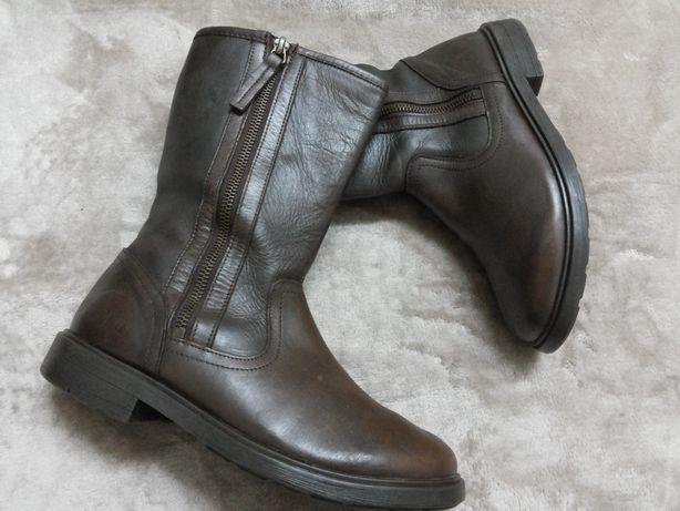 Сапог,ботинки демисезонные кожаные дев. CLARKS Индии