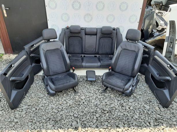 Салон сидушки сиденья Passat B8  Пассат Б8 алькантара шкіра