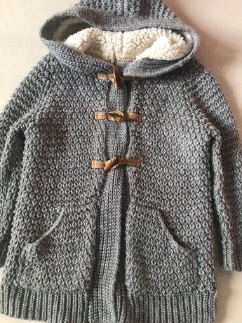 Кофта утеплённая Zara для девочки 7-8 лет