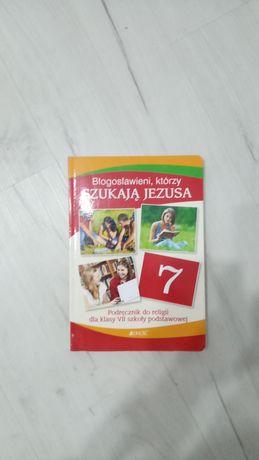 Podręcznik do religii Błogosławieni, którzy szukają Jezusa klasa 7