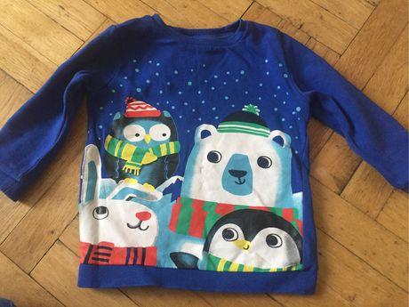 Bluza dla chłopca 98 zima święta