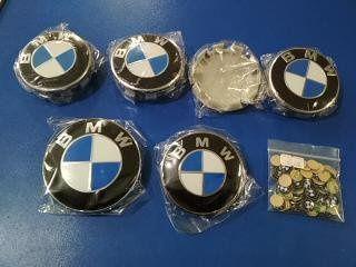 Эмблема значок БМВ BMW Е39 Е46 Е38 Е90 Е60 Е53 капот багажник диски