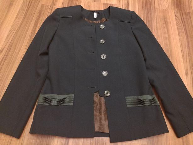 Зеленый школьный пиджак на девочку