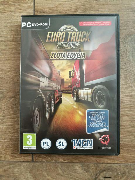 Gra PC Euro Truck Simulator 2 Złota edycja