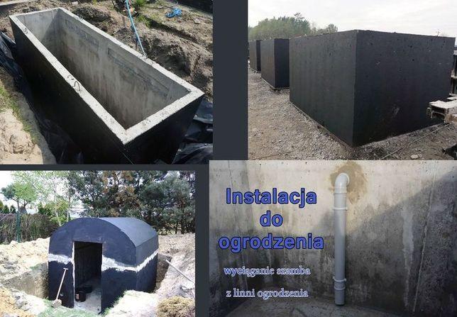 Szamba betonowe szambo kanał samochodowy kanały piwniczka ziemianka 10