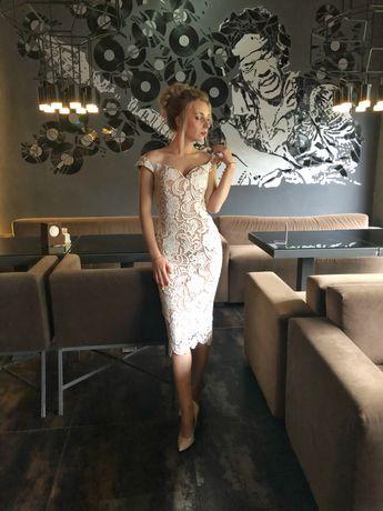 Плаття міді вечірнє/випускне Zara Mango